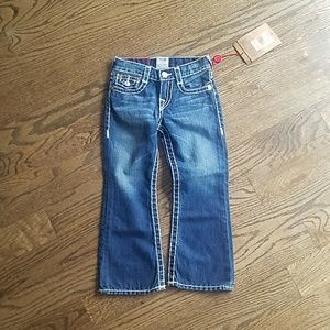 Size 4 True Religion jeans boy new